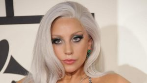 Lady Gaga silver hair