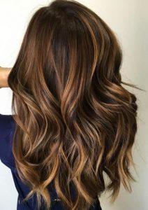 Caramel balayage - Autumn hair
