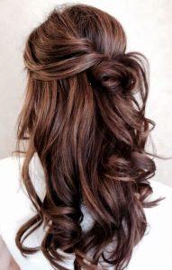 Chocolate brown hair - Autumn hair colour