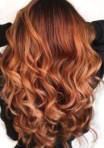 Copper hair - Autumn hair colour