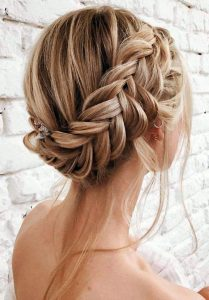 Braided crown - braided updo ideas