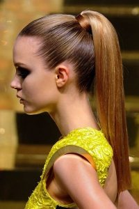 DooWop - super sleek ponytail