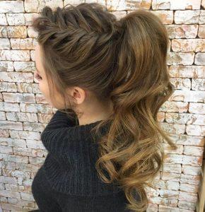 High wavy ponytail - DooWop Hair