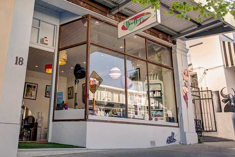 DooWop salon outside shot