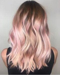 Rose gold hair - DooWop Fremantle