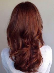 Auburn hair colour - Autumn hair colour